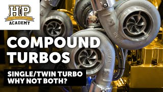 3000HP, 150 PSI Of Boost | What Do YOU Know About Compound Turbo Systems | Shane T [TECH TALK]