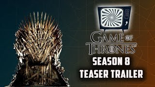 GAME OF THRONES SEASON 8 TEASER TRAILER REACTION - Double Toasted Reviews