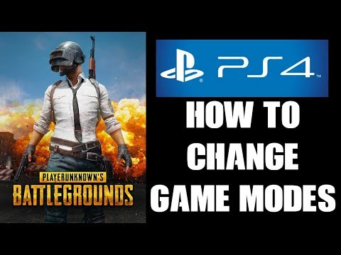 Pubg Ps4 Beginners Guide How To Change Game Modes Maps