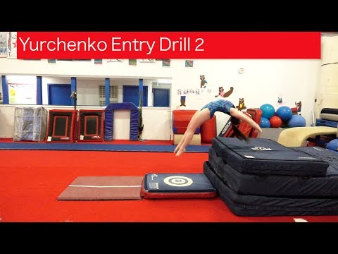 Yurchenko Entry Drill 2