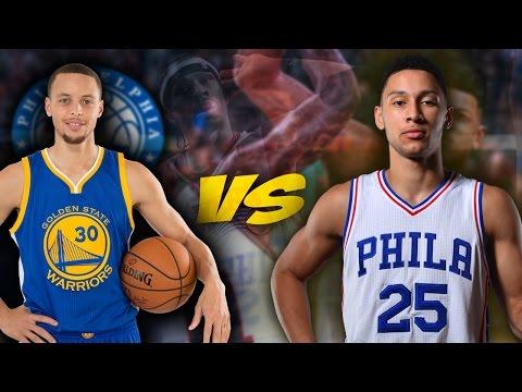 NBA 2K17 Philadelphia 76ers MyGM - Steph Curry DOMINATES 76ers!! [Ep.8]