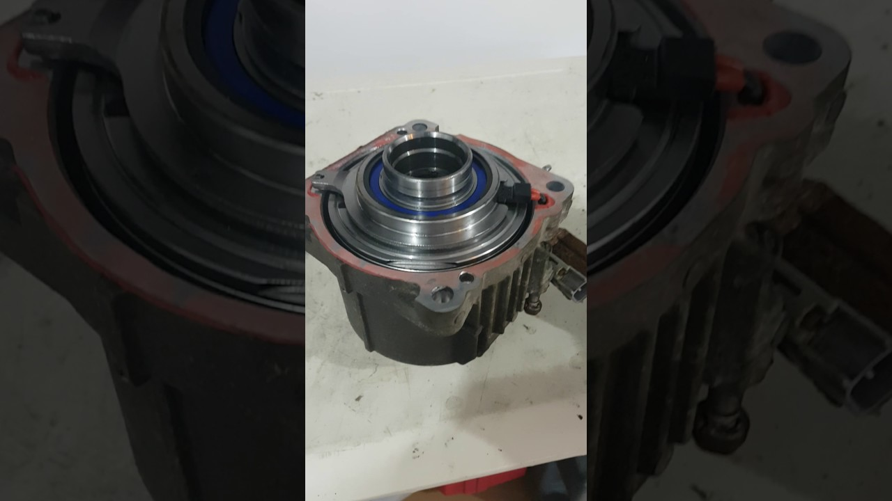 Failed 2011 Toyota Sienna Rear Differential Coupler Youtube