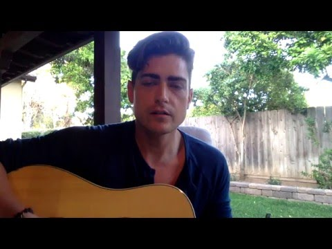 """Ryan Boone Acoustic  Cover """"The way I was"""" Jem and the Holograms"""