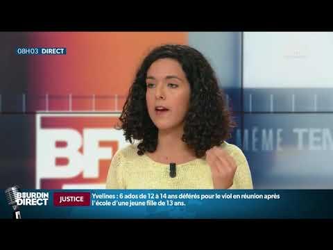 Qui est Manon Aubry, tête de liste de la France Insoumise aux européennes?