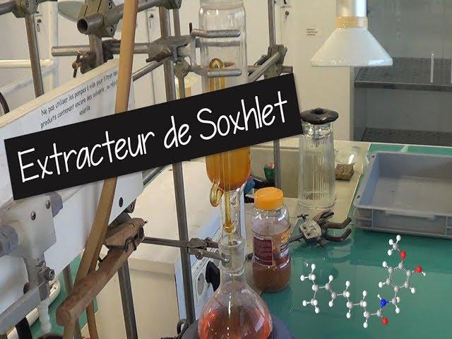 Extracteur de Soxhlet