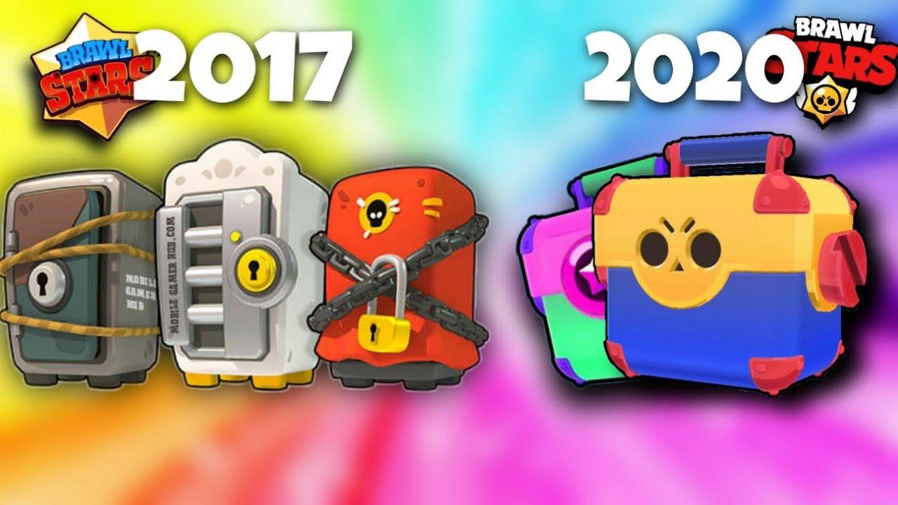 Evolution of Brawl Stars 2017-2020