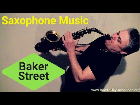 Baker Street - Saxophone Music and Backing Track Download