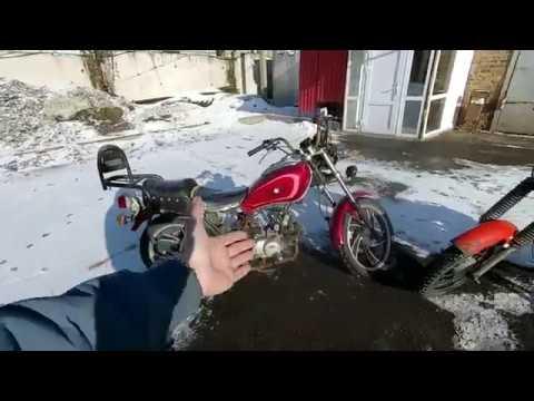 Последствия хранения мотоцикла на улице под открытым небом.