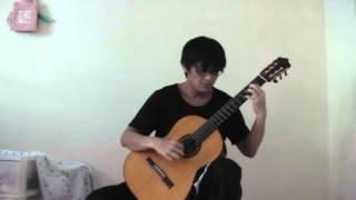 Yoshifumi Asao plays Ato-Hitotsu, the song of FUNKY MONKEY BABYS, c...