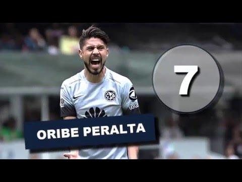 Todos los Goles de Oribe Peralta Jornada 1 a 11, 2016