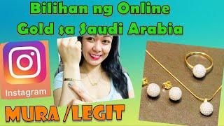 MURANG ONLINE BILIHAN NG GOLD SA SAUDI ARABIA | Rosh Castillo