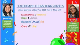 Peaceofmind Wishing Happy New Year 2021 to All