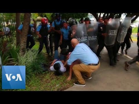 Police Repress Anti-Government