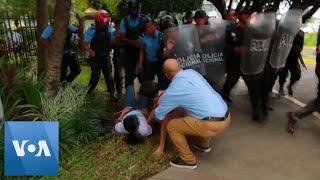 Police Repress Anti-Government Protesters in Managua, Nicaragua