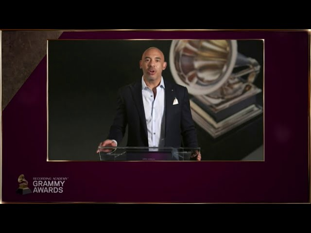 Harvey Mason Jr. reads Nominations for Production fields | 2021 GRAMMYs