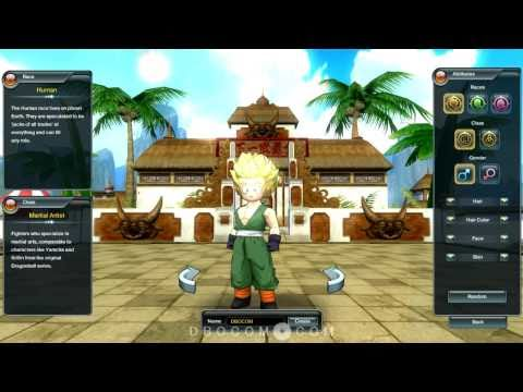 Dragon Ball Online - Super Saiyan Hairstyles (HD)