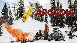 Arcadia - TW Snowboarding - Official Trailer - Halldór Helgason, Alek Oestreng