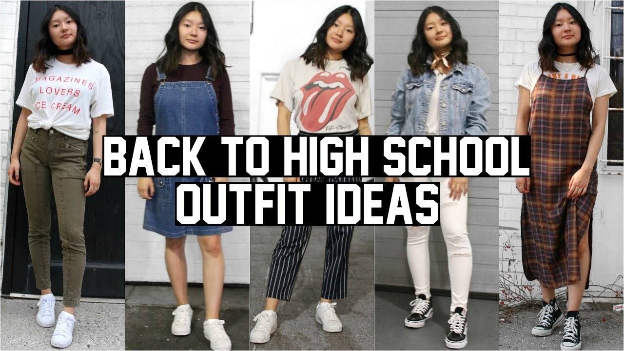BACK TO SCHOOL LOOKBOOK 10 (HIGH SCHOOL OUTFIT IDEAS)