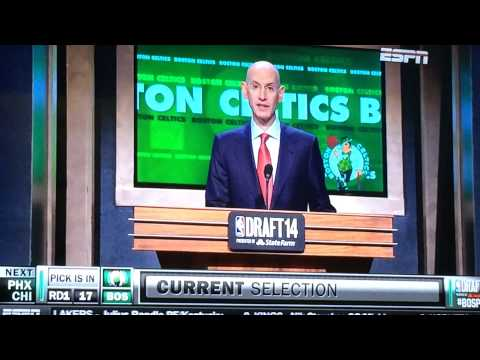 Bill Simmon's Reaction To Celtics 17th Pick-James Young