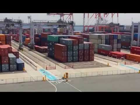 Tobishima automated container terminal(Aichi, Japan)