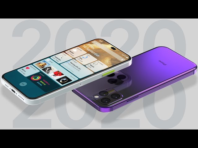 2020 iPhones Excite! Touch ID 3, Best iOS 13 Concept & SE 2!