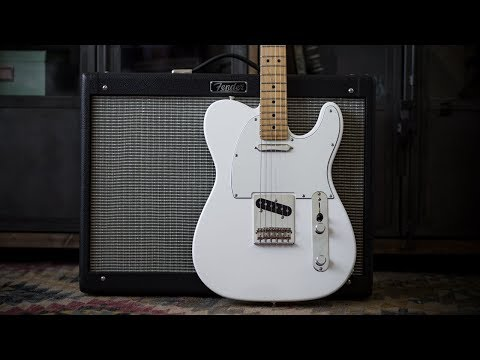 Fender Player Series Telecaster Electric Guitar - Demo and Features