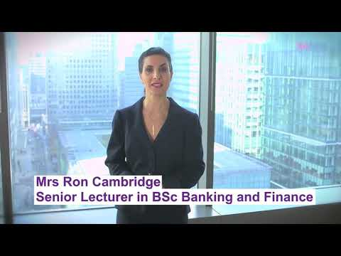 Ron Cambridge, Course Leader and Senior Lecturer BSc Banking & Finance