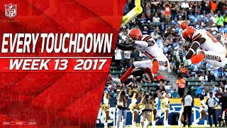 Every Touchdown from Week 13 | 2017 NFL Highlights