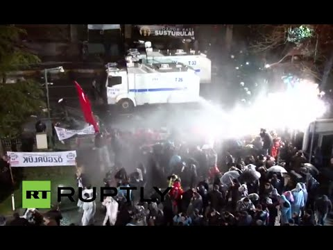 LIVE: Police storm opposition news outlet offices in Istanbul