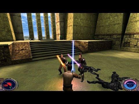 Star Wars Jedi Knight II: Jedi Outcast - (Level 23) Yavin Courtyard