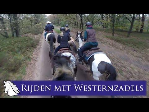 The Mill Range Western buitenrit met de Paarden YouTubers! * Hart voor Paarden *