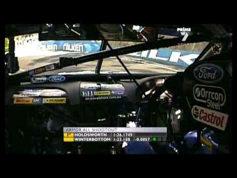 2010 Bathurst qualifying - Mark Winterbottom pole ...