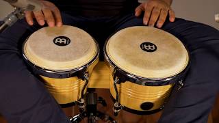 MEINL Percussion Latin Styles on Bongos - WB200NT-CH