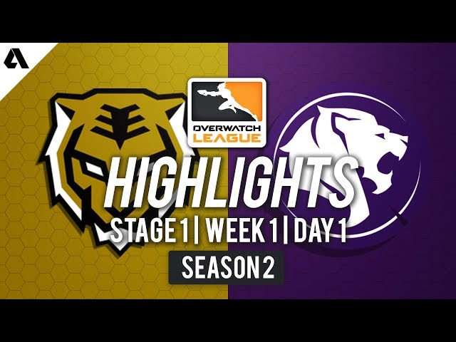 Seoul Dynasty vs LA Gladiators | Overwatch League S2 Highlights - Stage 1 Week 1 Day 1