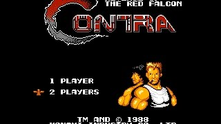 TAS NES Contra revenge of the red falcon (2 players)
