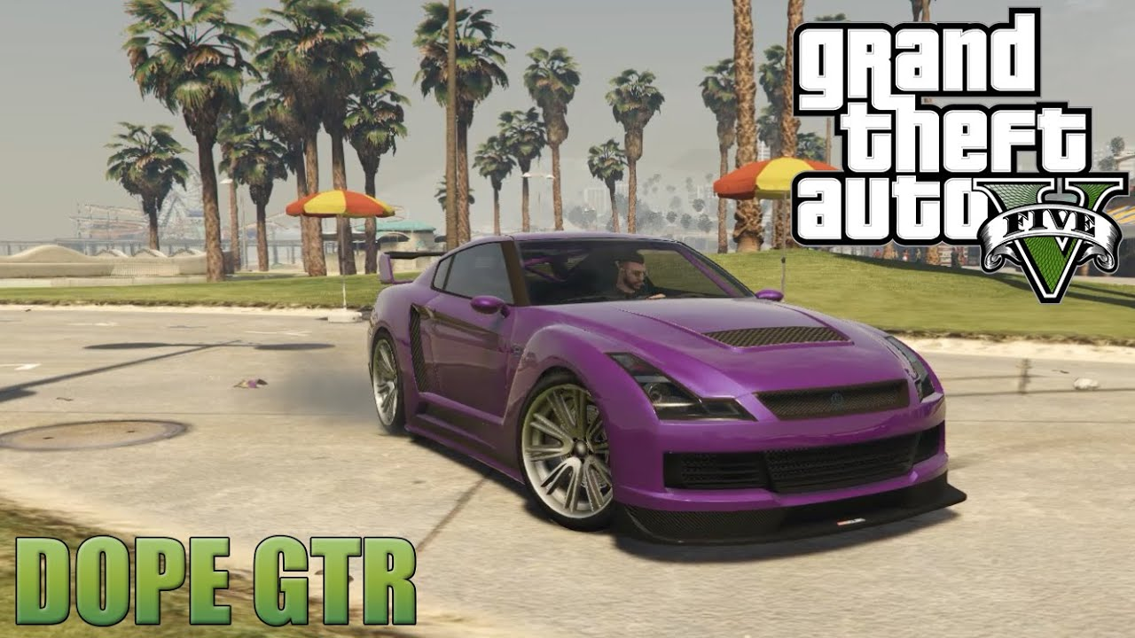 how to get the nissan gtr in gta 5 pc