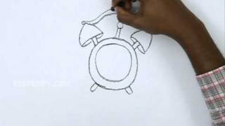 How to Draw a Funny Clock