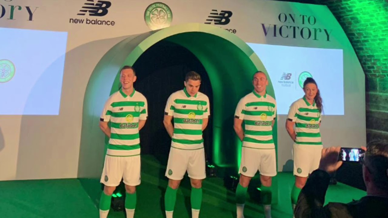 cheap for discount 9d0a9 7ab6c Celtic Home Kit 2019/20 | Scott Brown | New Strip Reaction | Aberdeen | SFA  Charges