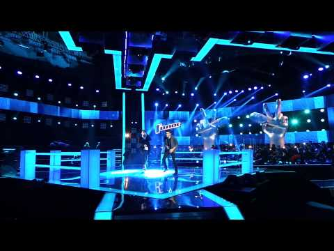 Шоу ГОЛОС Сезон 2 Поединки (за кулисами) репетиция Нодар Ревия и Георгий Меликишвили