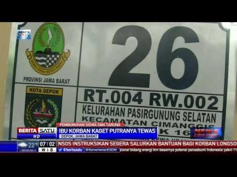Orangtua SMA Taruna Nusantara Shock Anaknya Tewas Dibunuh