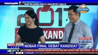 Video Special Report: Keseruan Nobar Debat Final Pilkada DKI di Kemang Village # 1 download MP3, 3GP, MP4, WEBM, AVI, FLV Januari 2018