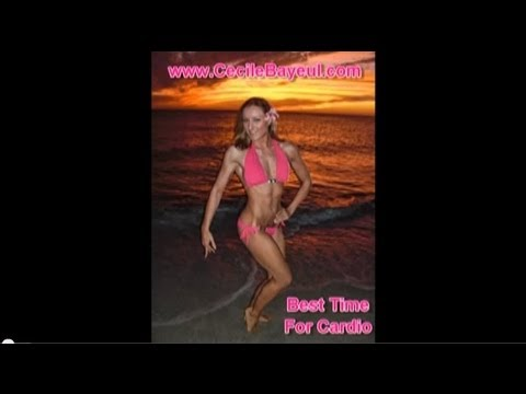 Aerobics / Cardio Tip : Best Time To Do Cardio for Fat Loss - YouTube