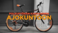 Expert-polkupyörän kokoamisohje
