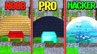 Minecraft - BED WARS CHALLENGE! (NOOB vs PRO vs HACKER)