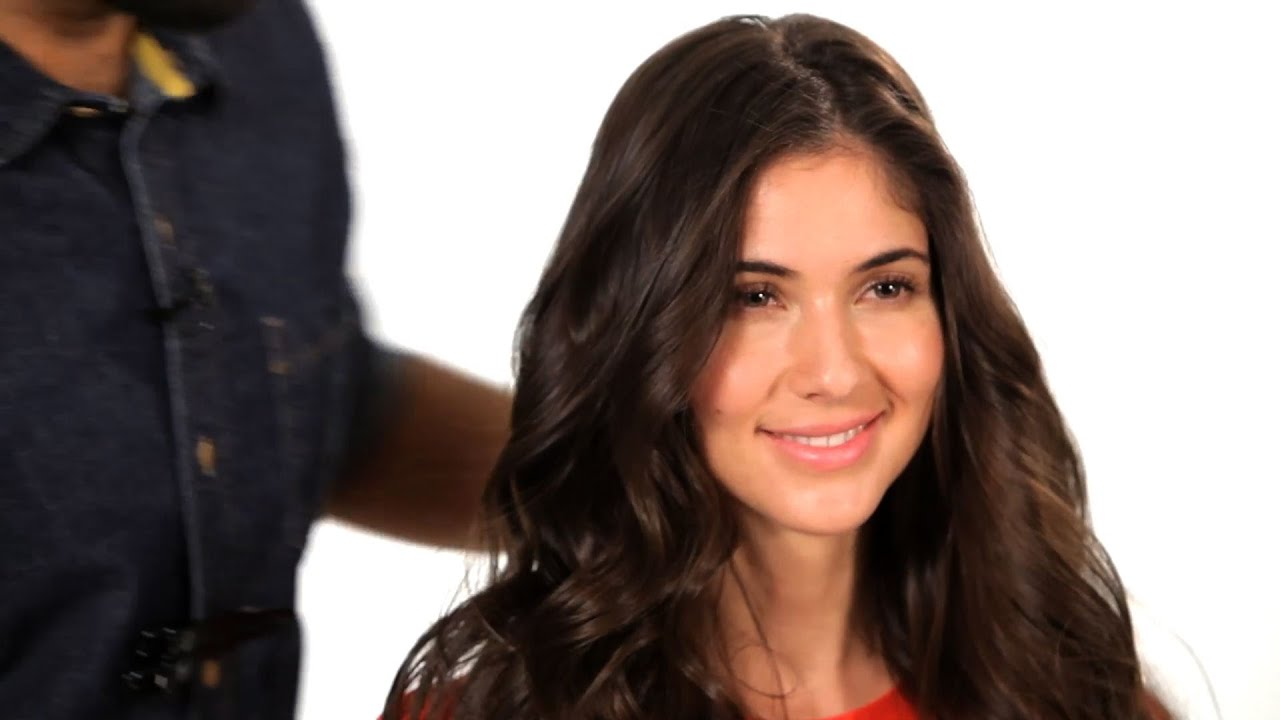 Salon Hair 5 Steps To A Beachy Wave Salon Hair Tutorial