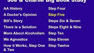 Joe & Charlie Big Book Study Part 10 of 15 - Step Five