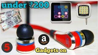 5 unique Gadget on Amazon under 200 rupees || Best Gadget