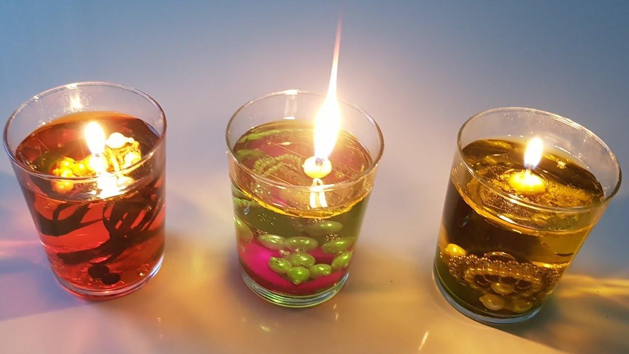 Christmas Floating Candles.Diy Floating Candles Christmas Decorations Diwali Decorations Diwali Decoration Idea S
