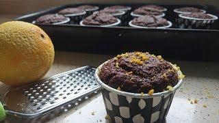 Portakallı Kakaolu Cupcake / Muffin Tarifi