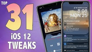 31 AWESOME iOS 12 Jailbreak Tweaks! | Best iOS 12 - 12.1.2 Cydia Jailbreak Tweaks #1